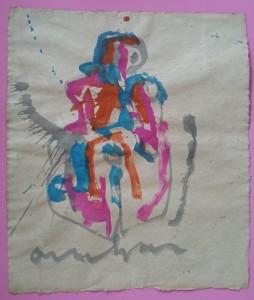 Ecoline 70 x 90 cm   1988 (nr. 17)