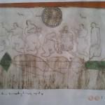 Ingekleurde ets 1984  100 x 70 cm (nr. 1)